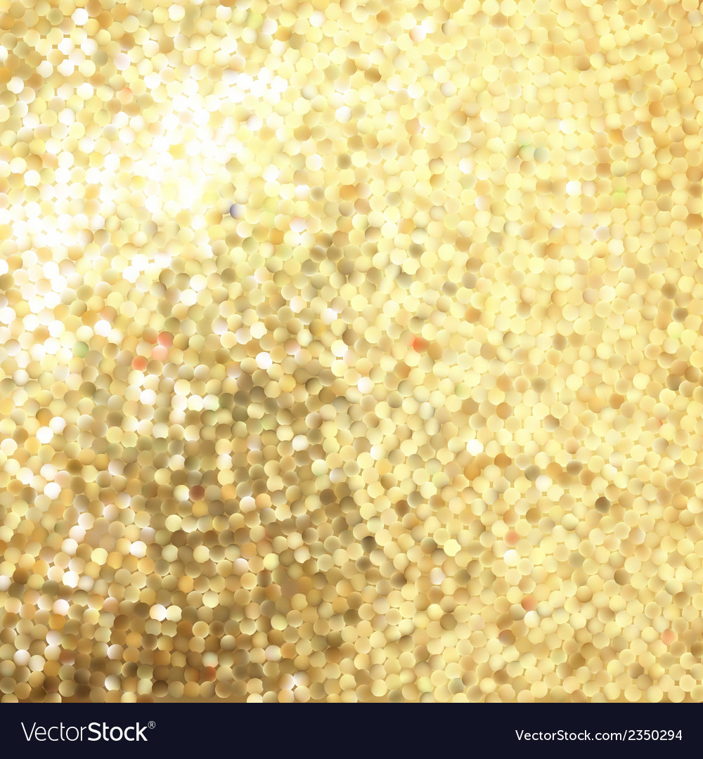 Golden mosaic abstract background eps 8 vector | Price: 1 Credit (USD $1)