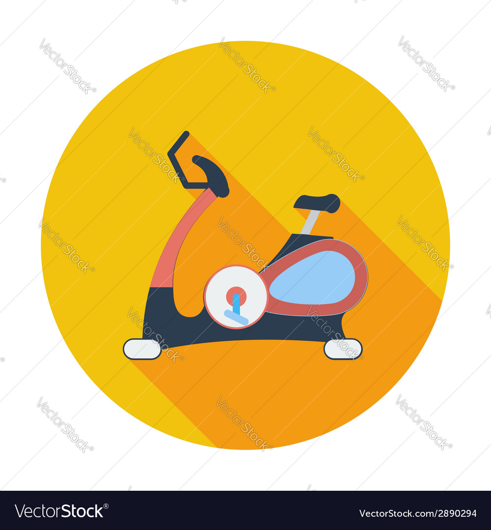 Icon exercise bicycle vector | Price: 1 Credit (USD $1)