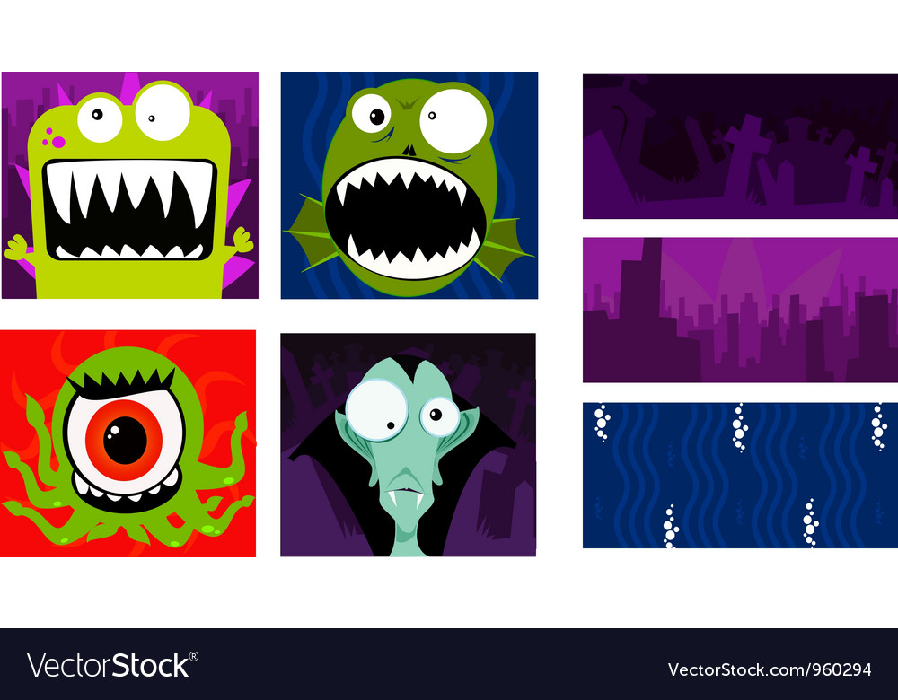 Multimonster vector | Price: 1 Credit (USD $1)