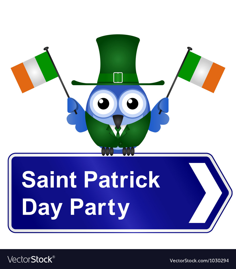 Saint patrick day party vector | Price: 1 Credit (USD $1)
