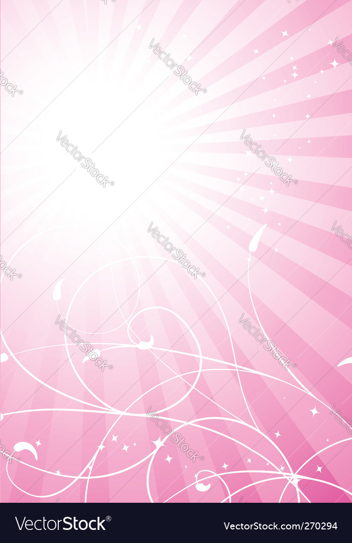 Spring pink background vector | Price: 1 Credit (USD $1)