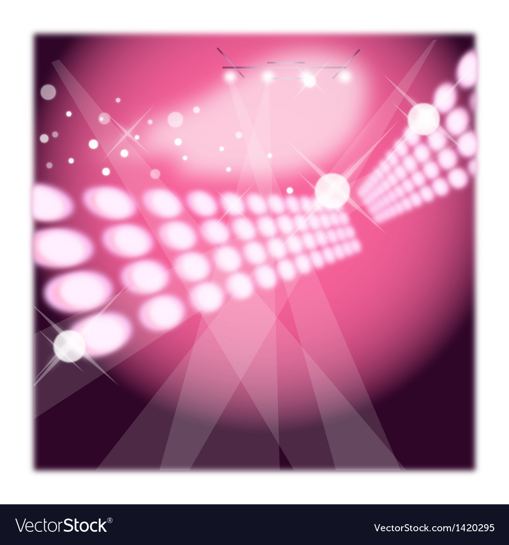 Dance club background vector | Price: 1 Credit (USD $1)