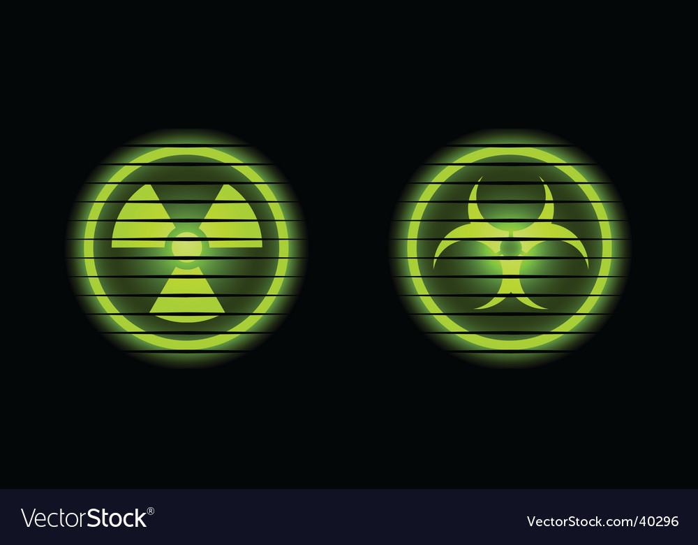 Two industrial icons vector | Price: 1 Credit (USD $1)