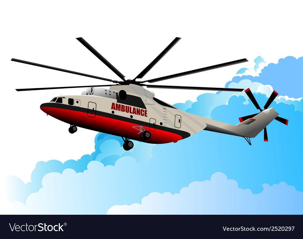 Al 0917 helicopter vector | Price: 1 Credit (USD $1)