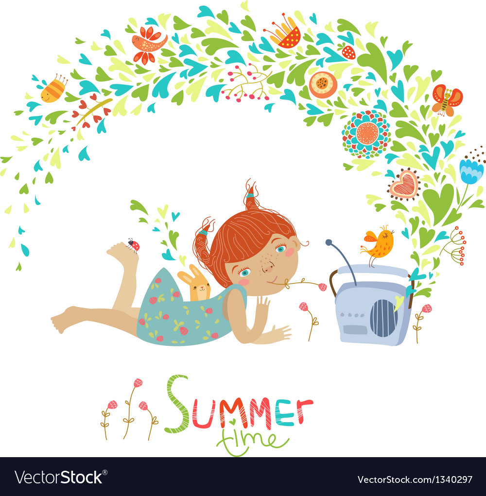 Cute summer vector | Price: 3 Credit (USD $3)