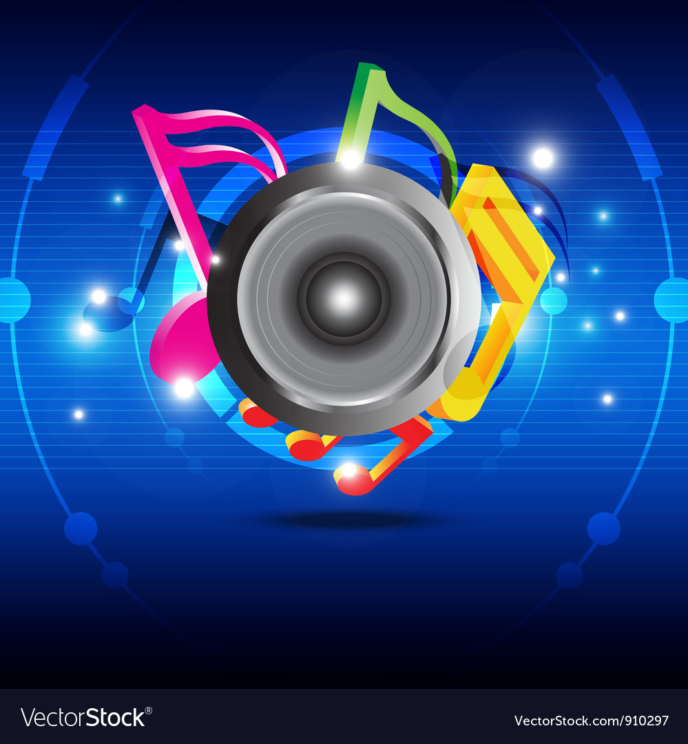 Music festival design vector | Price: 1 Credit (USD $1)