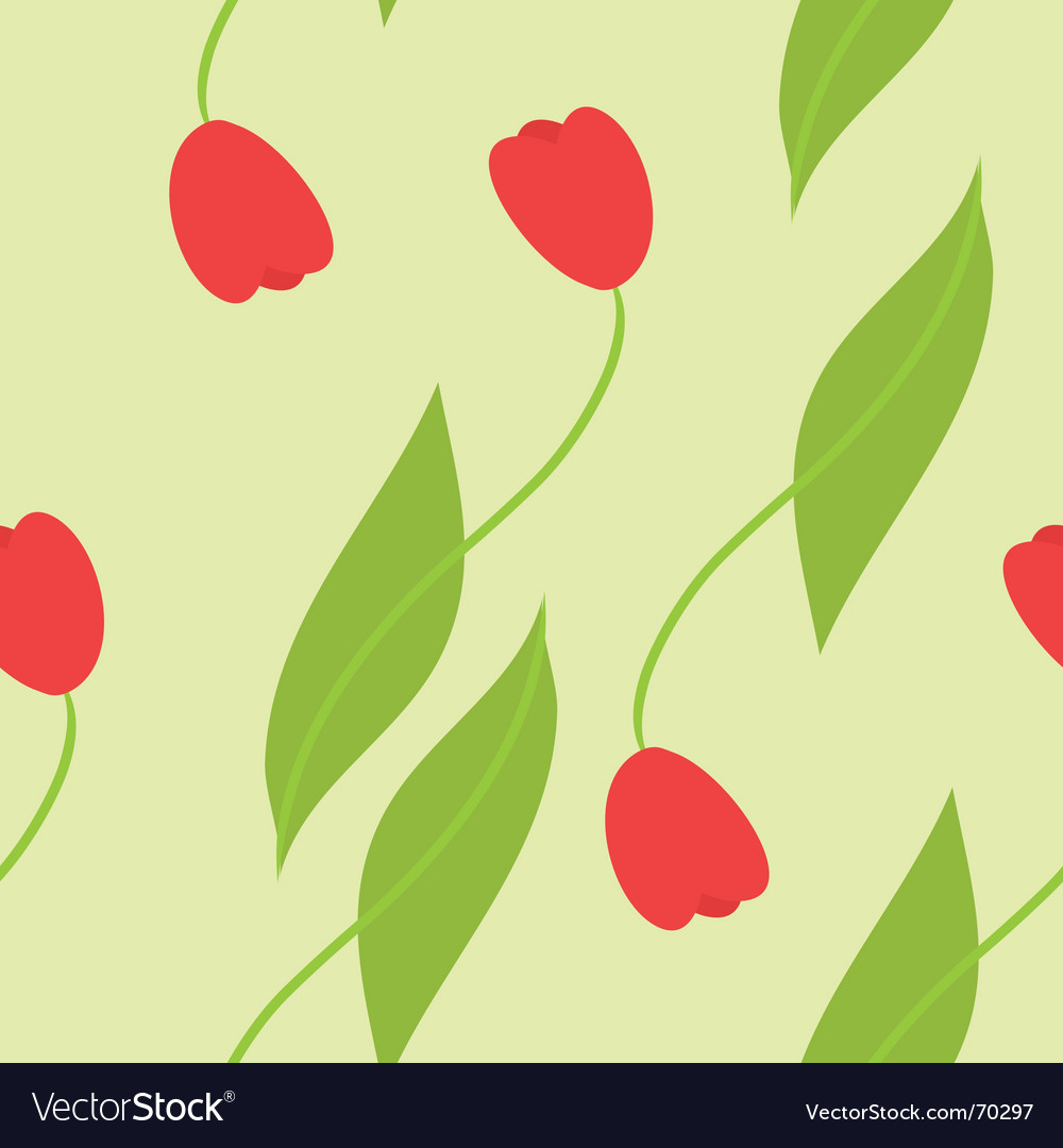 Tulips background vector | Price: 1 Credit (USD $1)