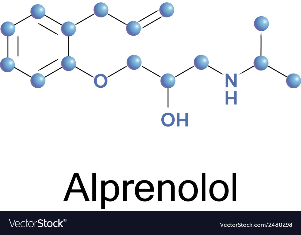Alprenolol vector | Price: 1 Credit (USD $1)