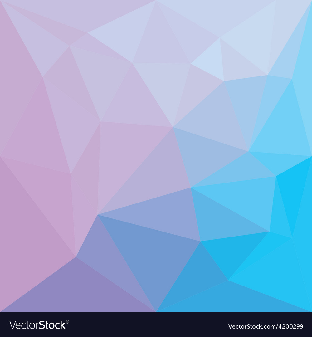 Abstract colorful low poly background vector | Price: 1 Credit (USD $1)