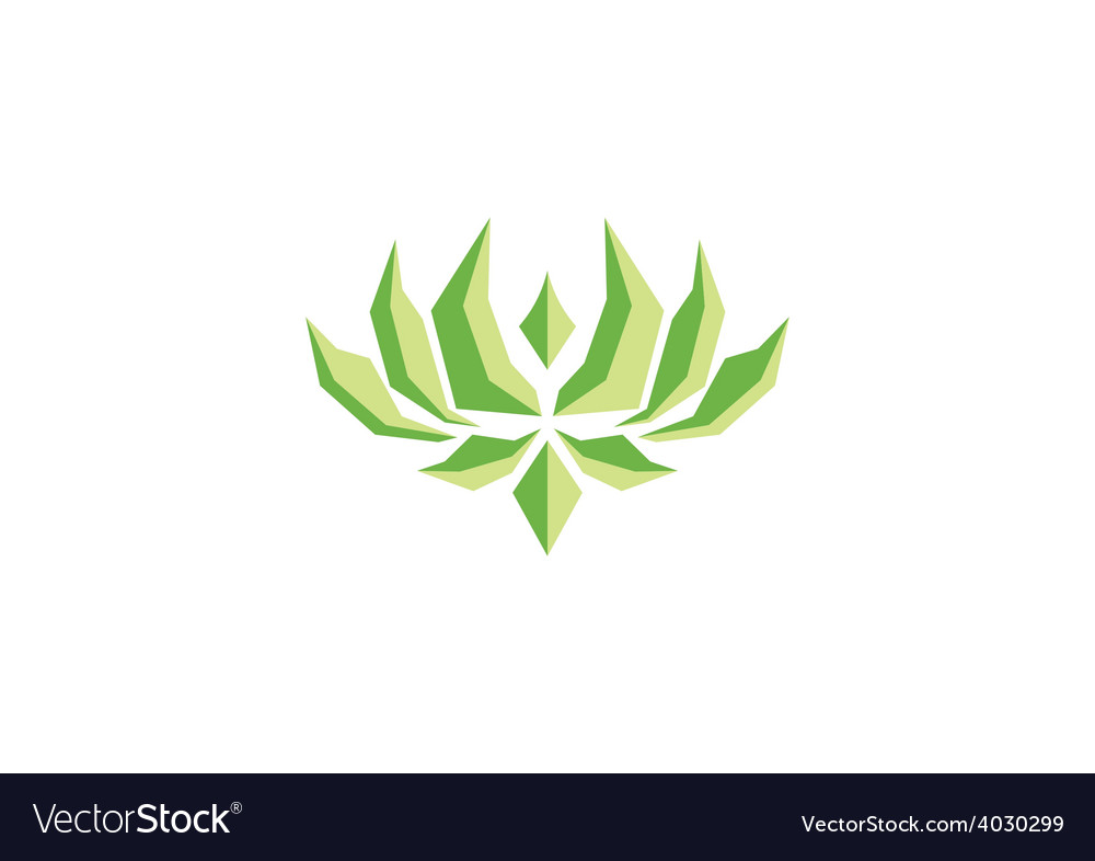 Abstract lotus flower shape logo vector   Price: 1 Credit (USD $1)