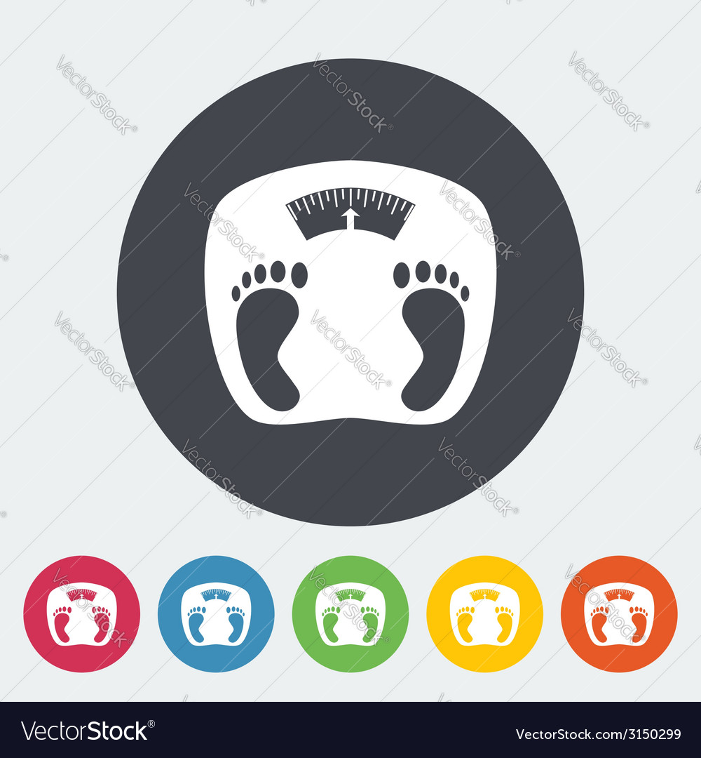 Icon weights vector | Price: 1 Credit (USD $1)
