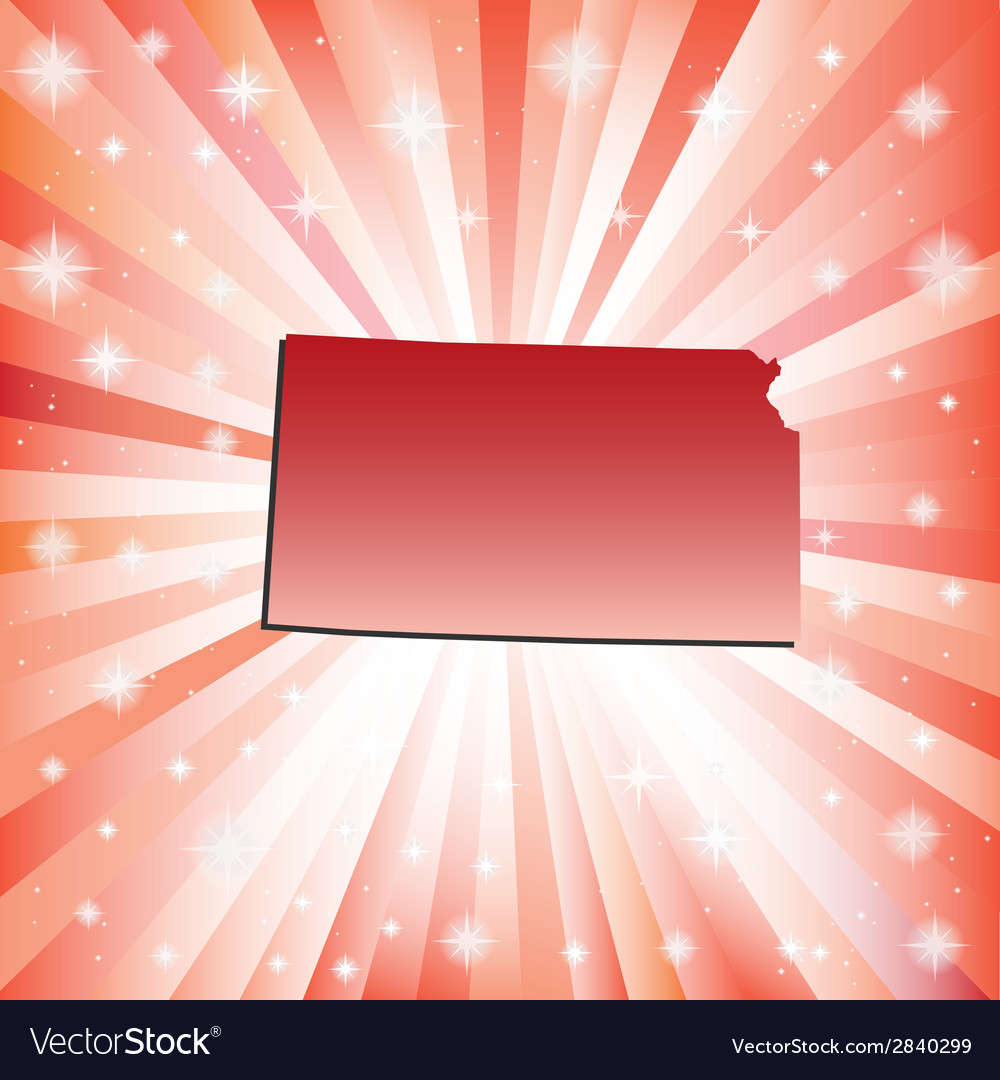 Red kansas vector | Price: 1 Credit (USD $1)
