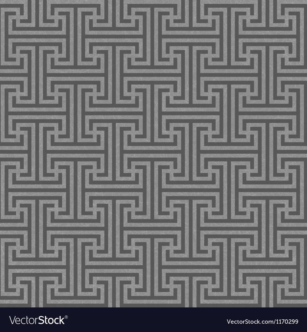 Seamless geometric key pattern vector | Price: 1 Credit (USD $1)