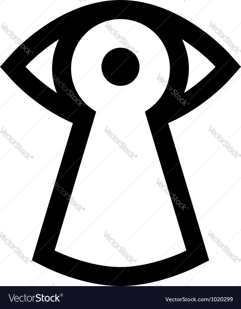 Spy sign vector | Price: 1 Credit (USD $1)