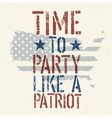 Patriot party vector