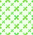 Green creative seamless pattern vector