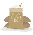 Rice bag vector