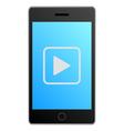 Smartphone video vector