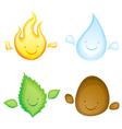 Four elements vector