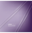 Purple abstract background with volume lines vector