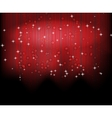 Abstract blurred glowing background with sparks vector