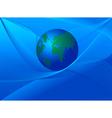 Earth globe3 vector