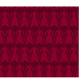 Seamless wallpaper pattern in red colors vector