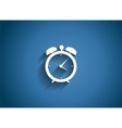 Time glossy icon vector