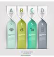 Communication technology spiral options banner vector