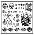 Criminal tattoos vector