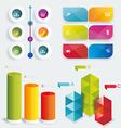 Set infographic design vector