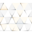 Abstract geometric seamless pattern with triangles vector