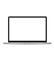 Thin laptop vector