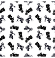 Motorcycle pattern vector