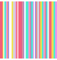 Striped colorful vintage pattern vector