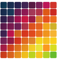 Abstract colorful rounded squares vector
