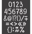 Elements font vector