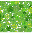 Seamless background with clovers eps10 vector