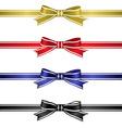 Silk ribbons set vector