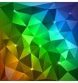 Rainbow triangles vector