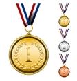 Award medals vector