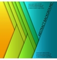 Colorful paper sheets vector