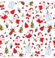 Christmas seamless 3 vector