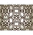Kaleidoscope floral background vector