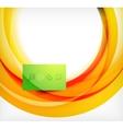 Colorful swirl motion design concept vector