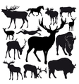 Hoofed animals vector