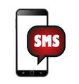 Smart phone sms icons vector