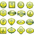 Nature logos vector