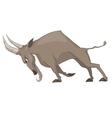 Cartoon character goat vector