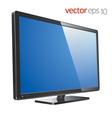 Monitor lcd tv vector